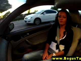 Sexy Euro Amateur Babe Gives Driver Head
