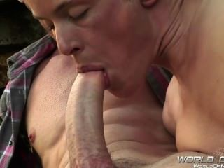 Neil Stevens & Alex Cumming Big Dick Fucking