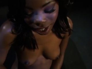 Destiny Lane Goes Wild For White Dick