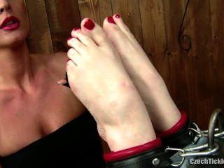 Sensual Tickling - Gia Red
