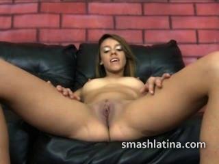 Latina Skinny Skank Used Like Meat