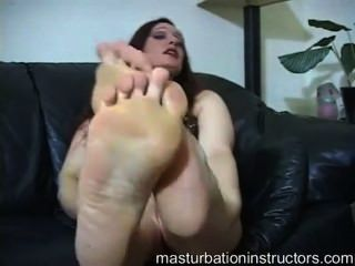 Western Redheads Foot Domination Webcam Clip With A Short Dick Paki Boy