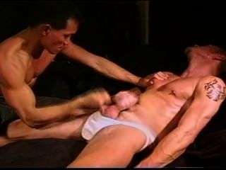 Cbt Hung Muscle Stud Ball Bashing Duo.