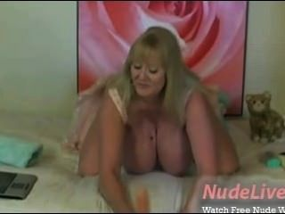 Hottest Busty Blonde 19yo Teen Masturbation On Webcam