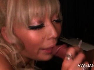 Tattoo Asian With Enormous Nails  Gets Anal Fucked