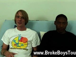 Gay Video They Sat Back Down On The Futon, Jamal Leaning Over And Taking