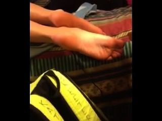 Candid Cousin Feet