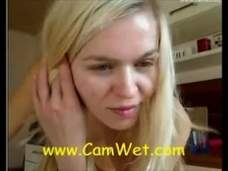 Fabulous Blonde School Girl On Webcam