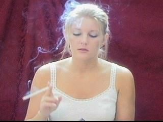 Blonde Smoking 120 Part 4