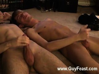 Gay Movie Jared Is Nervous About His First Time Wanking On
