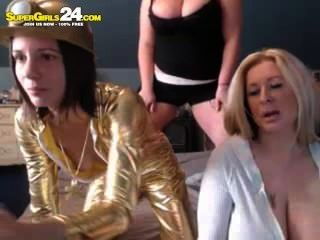 Super Funny Girls Party On The Webcam Cams