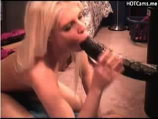Blonde Teen Fucking Big Black Toys