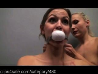 Hotting Gagging Action At Clips4sale.com