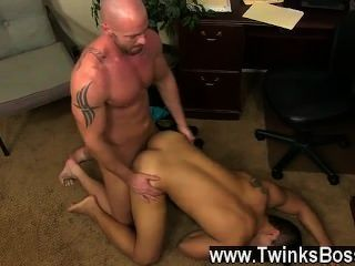 Gay Video Pervy Boss Mitch Vaughn Lastly Digs Up Enough Leverage On New