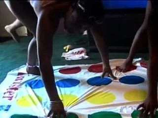 Black Girls Playing Naked Twister