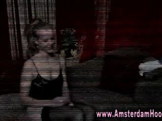 Real Dutch Hooker Blowjob