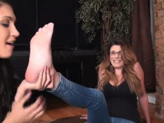 Lesbian Milf Gets Feet Licked