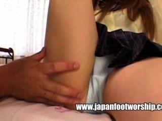 Japanese Foot Worship 14