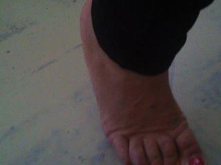 Mature Chubby Feet
