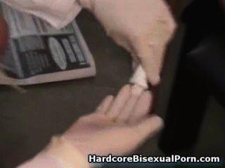 Strapon Girls Fuck Bisexual Boys!