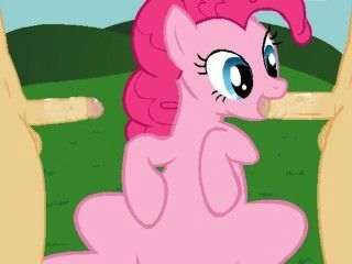 Pinkie Pie Spreads Happiness And Smiles.