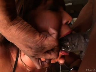 Alluring Babe Ava Devine Gobbles Down This Huge Dick