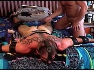 Cbt Pounding Balls Of Big Dude.