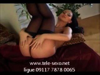 Mili In Panties And Stockings disk-sexo.net 09117 7878 0065