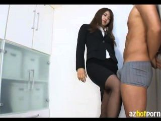 Dream Boss Wearing Panty Stockings