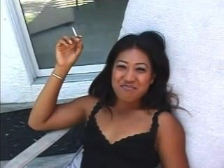 Lyla Lei Smoke Outdoors (behind The Scenes)