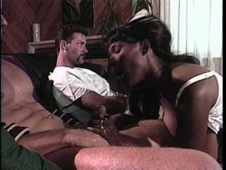3way With Hot Black Nurse