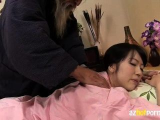 Naughty Woman Nurses Skilled Massage