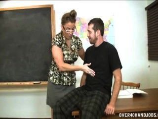 Handjob Domination In The Classroom