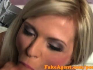 Fakeagent Stunning Blonde Babe Is An Amazing Fuck In Casting