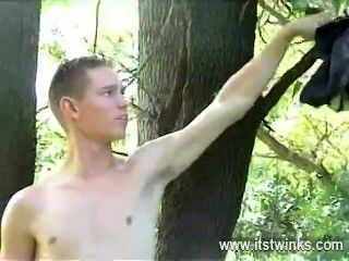 Gay Porn Watch The Tasty And Defined Shane As He Heads Into The Woods For