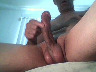 Massaging A Beautiful Cock To Enjoy Tasty # 1.