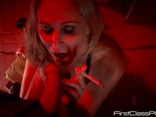 Julia Ann Smoking Blowjob Pov