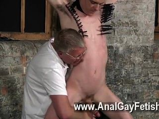 Gay Xxx Sean Mckenzie Is Corded Up And At The Mercy Of Tormentor