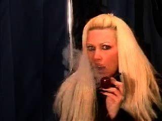 Pipe Smoking Sexy Celeste, A Rare Treat!