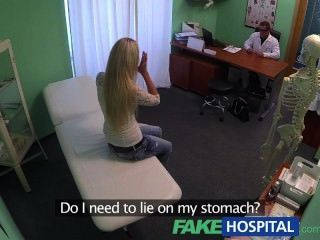 Fakehospital Blonde Womans Headache Cured By Cock And Her Squirting Orgasms