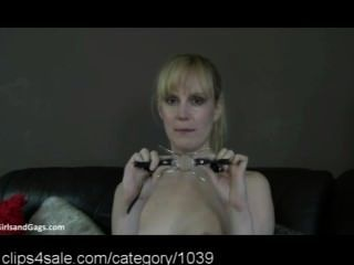 Hot Ballgagged Action At Clips4sale.com