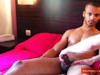 Woow! This Is An Enormous Cock! Bachir Get Wanked By Us !!
