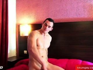 French Firefighter Get Wanked His Huge Cock By A Guy For A Porn Video !