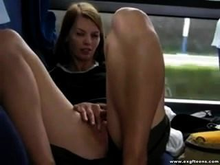 Masturbating On Bus