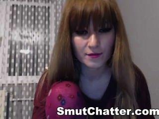 Yummy Amateur Brunette Hipster Masturbating On Web Cam