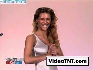 Michelle Hunziker Sexy Hot Celebrity Porn Movie Chiambretti Night-02