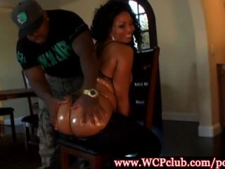 Big Ass Ebony Babe Anita Peida Drilled In This High Def Video