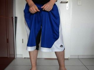 Sagging Magic Basketballshorts