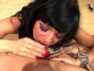 Hott Girl With Raspy Voice Licking Ass
