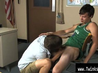 Gay Xxx Ashton Rush And Brice Carson Are At School Practising Romeo And